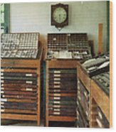 Print Shop Wood Print