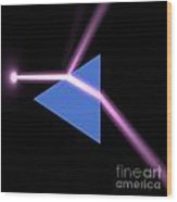 Prism 3 Wood Print
