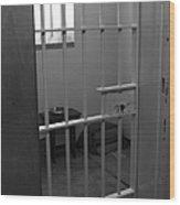 Prison Cell Wood Print