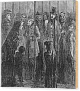 Prison: The Tombs, 1871 Wood Print