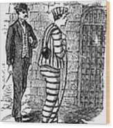 Prison: The Tombs Wood Print by Granger
