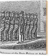Prisoners, 1842 Wood Print