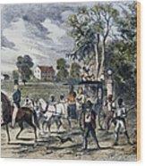 Pro-union South, 1862 Wood Print