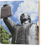 Proclamation Of Emancipation Wood Print