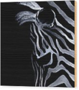 Profile Of Zebra Wood Print