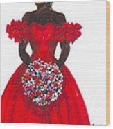 Prom Queen Wood Print