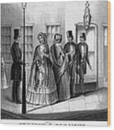 Prostitution, 1850 Wood Print