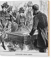 Prostitution, 1892 Wood Print