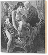Prostitution, C1880 Wood Print