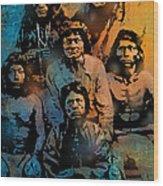 Proud Apache Scouts Wood Print