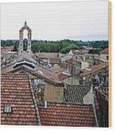 Provencal Skyline Wood Print