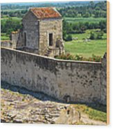 Provence Countryside Wood Print