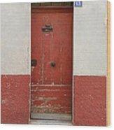 Provence Door 13 Wood Print