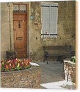 Provence House 2 Wood Print