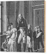 Prussian Royal Family, 1807 Wood Print
