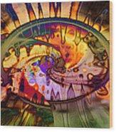 Psychedelic Daze Wood Print