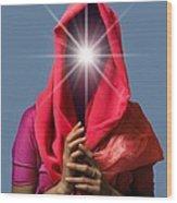 Psychic, Conceptual Image Wood Print