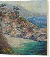 Pt Lobos View Wood Print