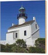 Pt. Loma Lighthouse Wood Print