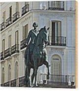 Puerta Del Sol Wood Print
