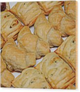 Puff Pastry Party Tray Wood Print