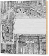 Pullman: Arcade, C1885 Wood Print