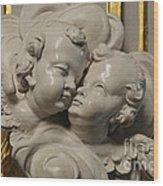 Pulpit Angels 1 Wood Print