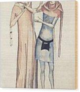 Pulse Measurement, 14th Century Artwork Wood Print