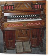 Pump Organ Wood Print