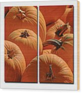 Pumpkin Pumpkin Wood Print