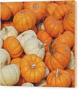 Pumpkin Squash Wood Print