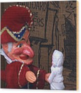 Punch And Judy Wood Print