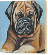 Pup For Ben Wood Print