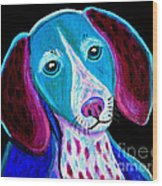 Puppy Love Wood Print by Nick Gustafson