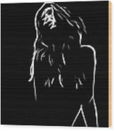 Pure Lust Wood Print