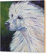 Pure Poetry - Chinese Crested Wood Print