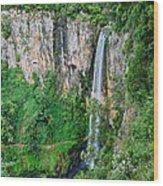 Purlingbrook Falls In Australia Wood Print