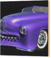 Purple Customized Wood Print