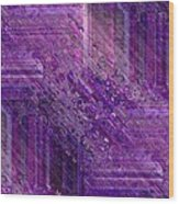 Purple Mystique Wood Print