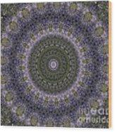 Purple Pleasure Abstract Wood Print
