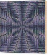 Purple Portal Wood Print