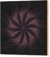 Purple Power Wood Print
