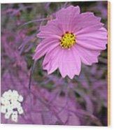 Purple Statement Wood Print