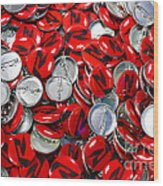 Push Chevys Buttons Wood Print
