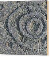Pu'u Loa Petroglyphs Wood Print