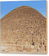 Pyramid Giza. Wood Print