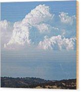 Pyrocumulus Cloud  Wood Print