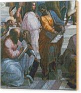 Pythagoras (569-475 B.c.) Wood Print