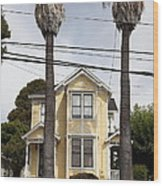Quaint House Architecture - Benicia California - 5d18592 Wood Print