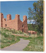 Quarai - National Historic Landmark Wood Print